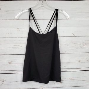 Abercrombie & Fitch criss cross strappy tank top